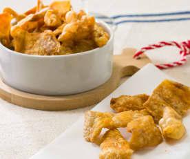 Cortezas de pollo