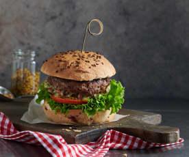 Cheeseburger à l'appenzelloise