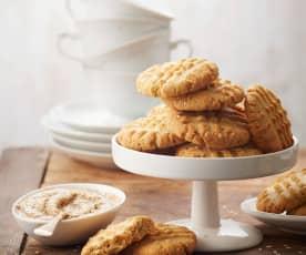 Biscuits croquants à la purée de sésame