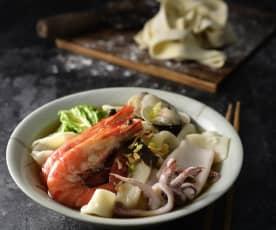 海鮮什錦麵
