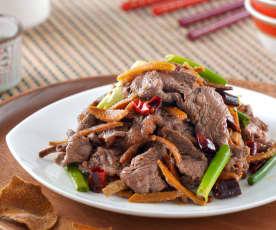 陳皮炒牛肉