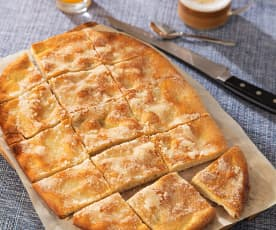 Pan de cañada (pan plano con aceite)