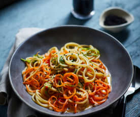 Miso-Gemüse-Spaghetti