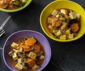 Tofu-Eintopf