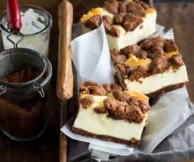 Schmandkuchen ('Falscher' Cheesecake)