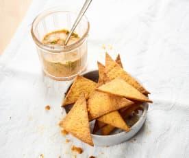Rosmarin-Thymian-Chips