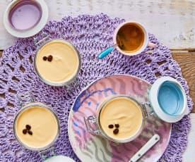 Yogurt al caffè (con fermenti per yogurt)