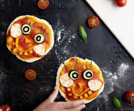 Pizzette faccina (senza glutine)