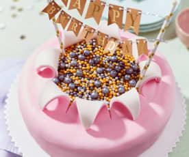 Geburtstags-Motivtorte