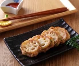 蓮藕海鮮餅