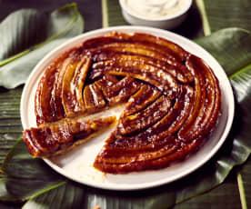 Bananen-Tarte-Tatin