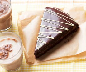 Triángulos de chocolate