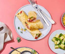 Pulled-Chicken-Tortillas
