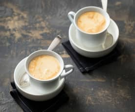 Ca phe trung (egg coffee)