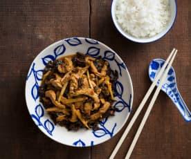 Yu xiang rou si (Yuxiang pork)