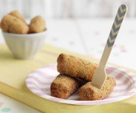 Croquetes de frango e batata-doce
