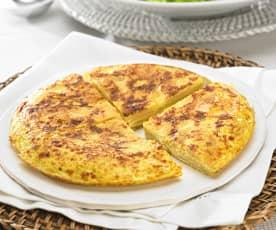 Španělská bramborová omeleta