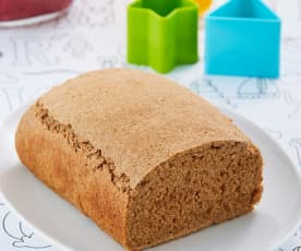 Pan de caja integral