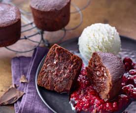 Mini ciasta czekoladowe z Varomy
