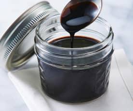 Reducción de vinagre balsámico