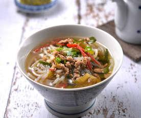 酸菜蒟蒻麵