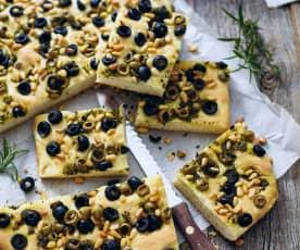 Oliven-Kräuterkuchen