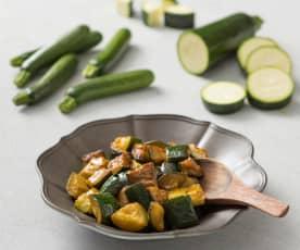 Sautéed zucchini (300 g)