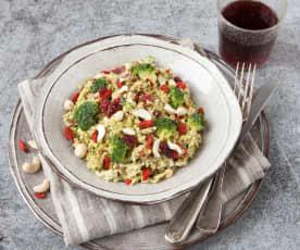 Brokolicový salát s goji