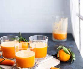 Succo di carote e clementine