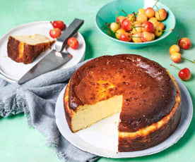 Dani Valent's Basque cheesecake