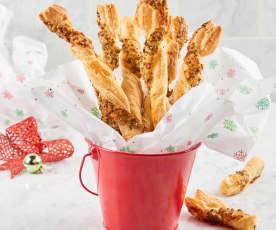 Prosciutto Herb Breadsticks