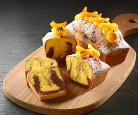 Plumcake variegato al cioccolato e cremoso alle albicocche di Luca Montersino