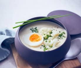 Kokos-Blumenkohl-Suppe