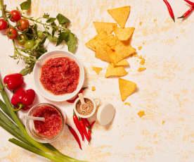 Fermentierte Salsa