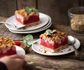 Carré aux fraises