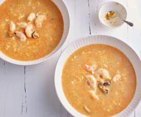 Zuppa di pesce veloce (Bimby Friend)