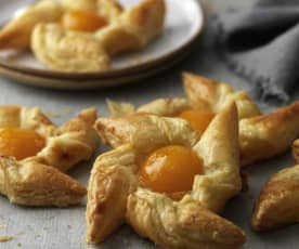 Apricot Danish Pastries