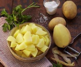 Kartoffeln, gekocht