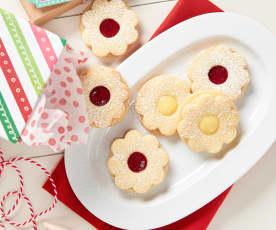 Spitzbuben (Jam Cookies)