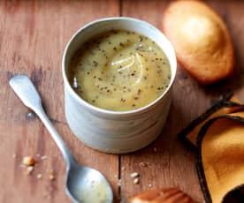 Compote de kiwi à la vanille