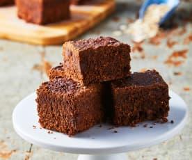 Brownies de avena