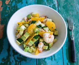 Salada das caraíbas