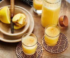 Apfel-Ingwer-Shot mit Cayenne-Pfeffer
