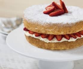 Home-style sponge cake