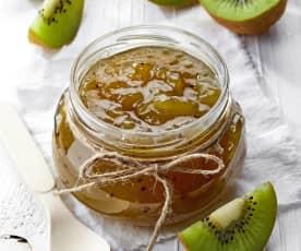 Confiture de pommes et de kiwis