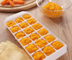 Pappa alle carote multiporzione (5-6 mesi)