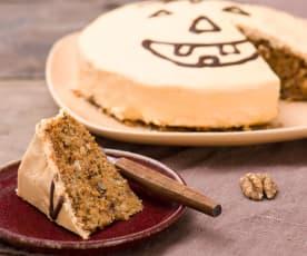 Halloweenowe ciasto dyniowe