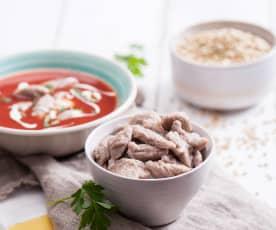 Pohankové noky do polévky