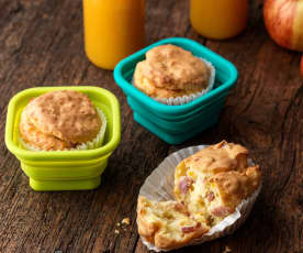 Gluten-free Bacon and Sweetcorn Muffins