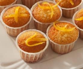 Minicakes de lima y limón